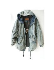 jacket,jeans,grunge,rock,teenagers,soft grunge,coat,denim,girl,denim jacket,cool jacket,denim jacket vintage coat,acid wash,bleached,blue,outerwear,winter outfits,fall outfits,oversized,hooded denim,pullstrig,hooded winter coat,vintage jean jacket,vintage