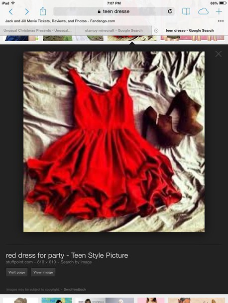 dress red dress hat
