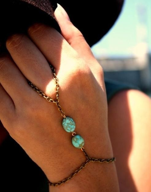 Turquoise slave bracelet by mir