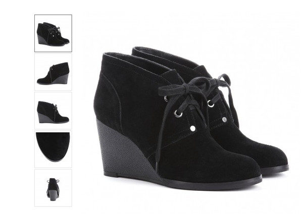 26e3e099ddd8 Worthington® Myra Lace-Up Wedge Booties - jcpenney