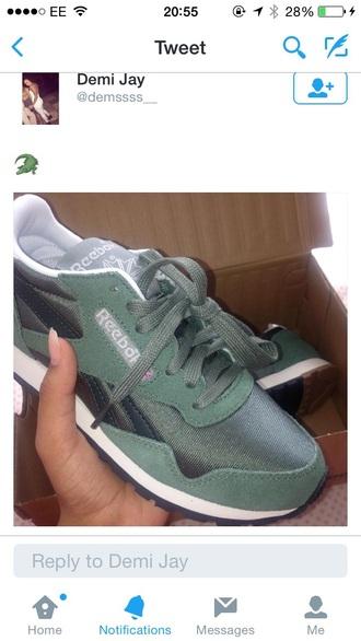reebok sneakers olive green green sneakers green shoes