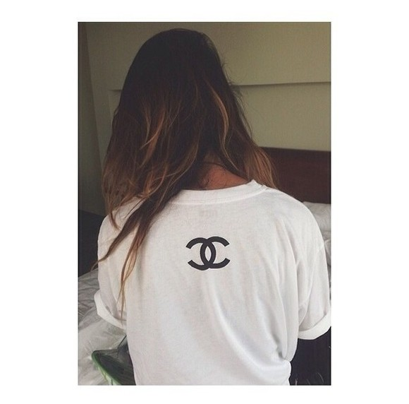 shirt chanel white