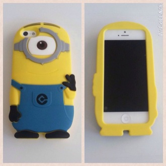 phone case yellow minion