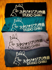 t-shirt,totoro,studio ghibli,kawaii,shirt
