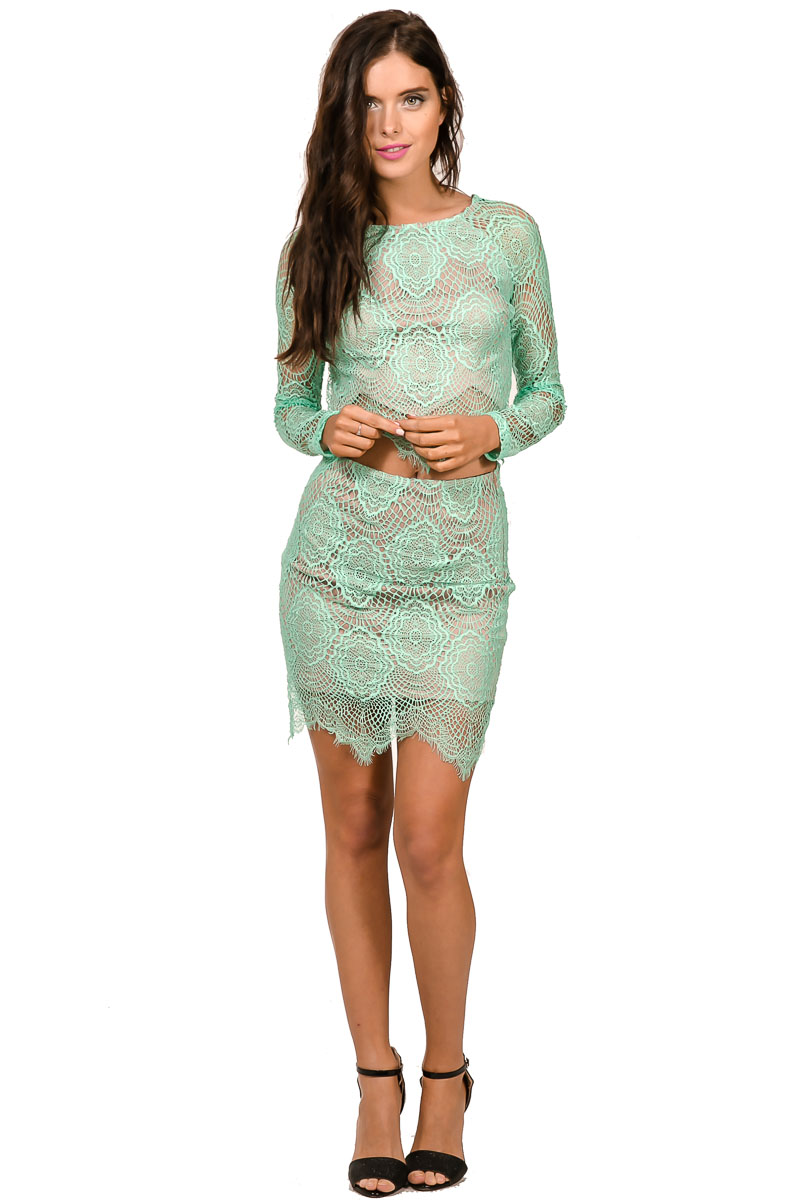 to Ignore Top – Mint | Dolly Girl Fashion Store – Shop fashionable ...