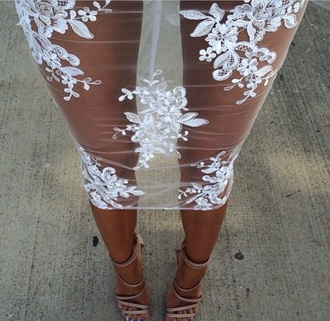 skirt shirt white mesh skirt white lace white skirt floral skirt white lace lace skirt clear floral flowers clear floral skirt floral lace skirt see through dress see through dress white dress floral dress silk mesh embroidery nude lace dress white lace skirt shoes pretty skirt long flower skirt midi