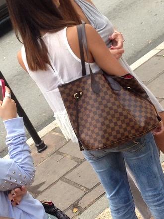 bag brown bag brown leather bag michael kors michael kors bag fashion bags big bag