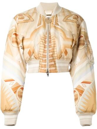 jacket bomber jacket nude