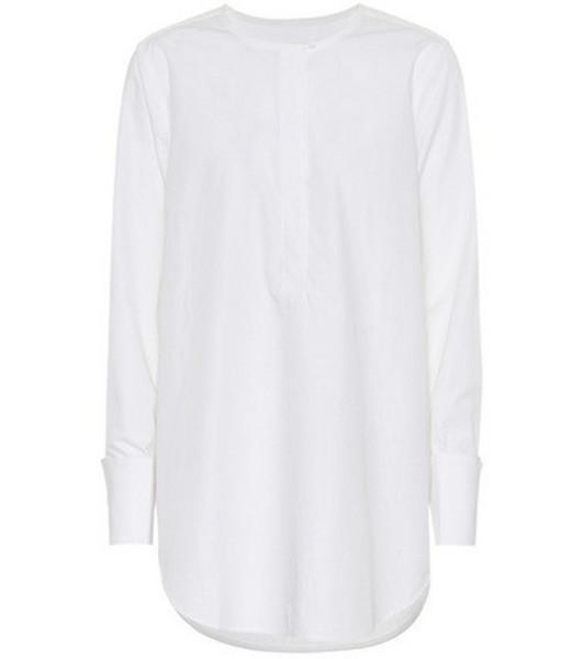 Equipment Cotton shirt in white