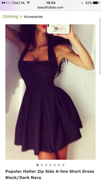dress black dress trendy fashion black party dress girly sexy cute style feminine hot summer lbd dress little black dress beautifulhalo