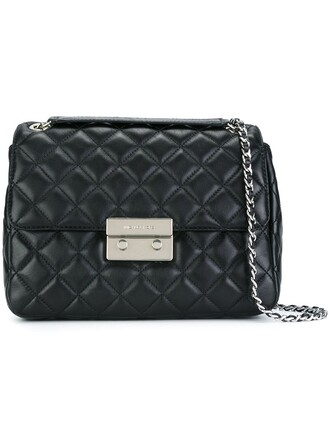 women quilted bag crossbody bag black