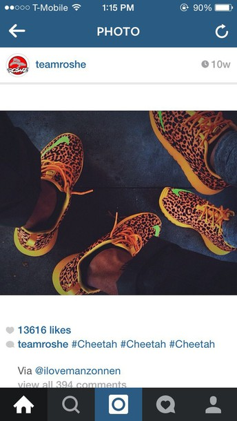 shoes cheetah print roshe runs nike women