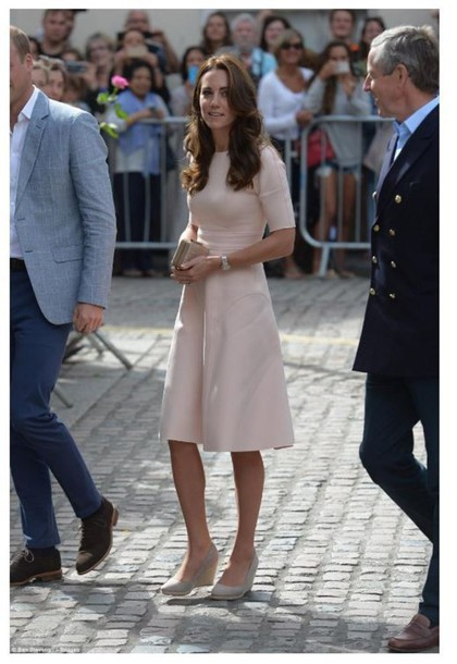 dress midi dress kate middleton clutch