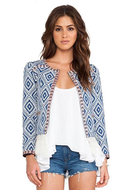 TULAROSA jacket blue