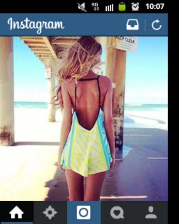 dress summer dress colorful perfect