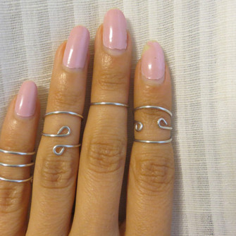 ring in finger jewels knuckle ring knuckle ring above the knuckle ring trendy fashion silver midi rings fashion jewelry the middle