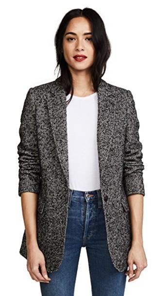 Rebecca Minkoff jacket black cream