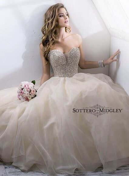 wedding dress dress sweetheart corset silver beaded bodice organza wedding gown gold beautiful ball gowns