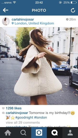 beige dress oversized sweater knitwear sweater dress