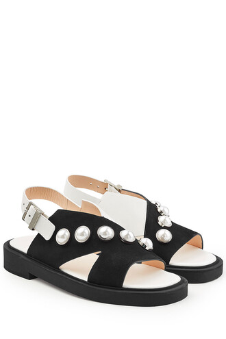 studded sandals suede shoes