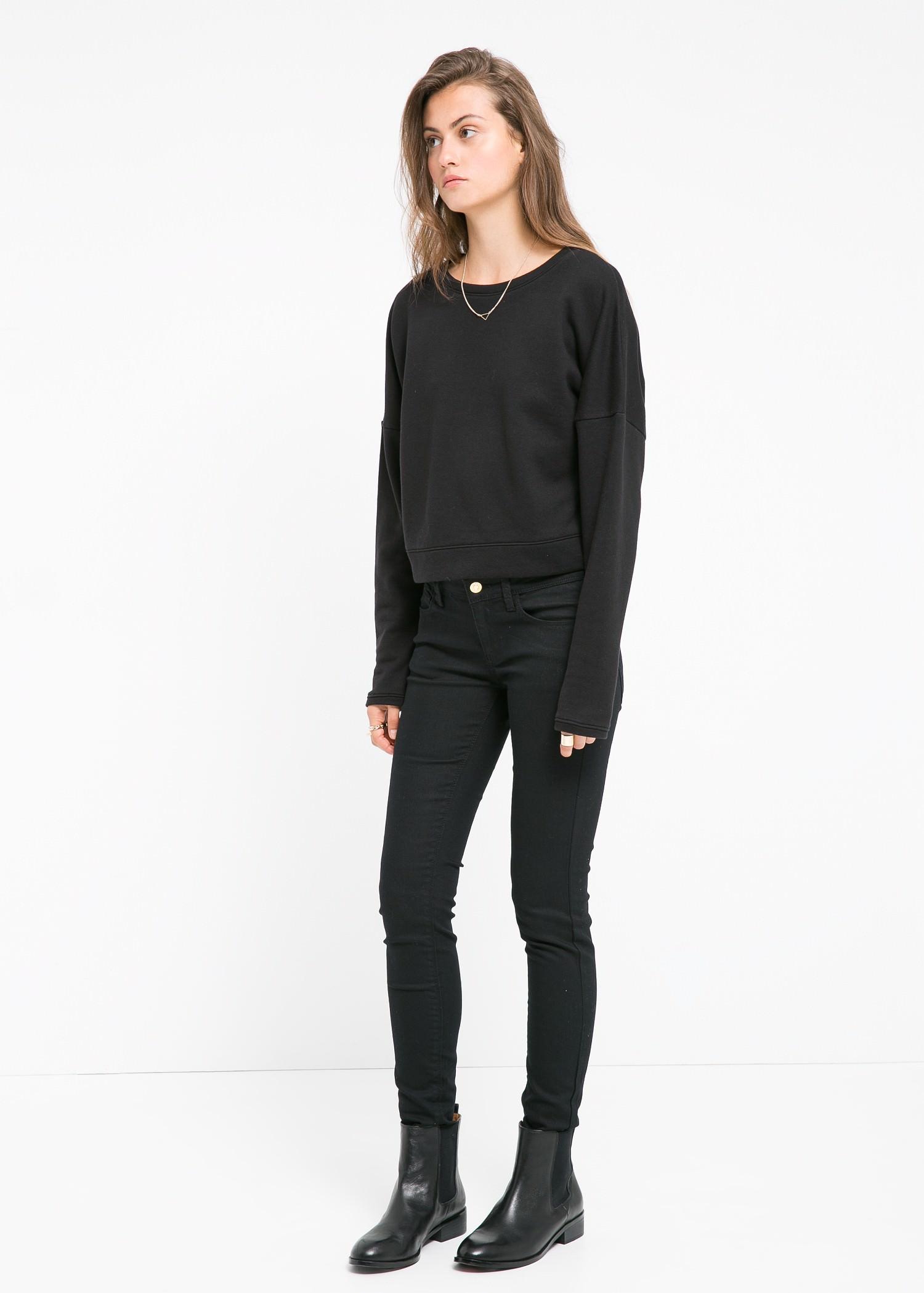 Skinny newpaty jeans - Jeans for Women   MANGO