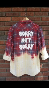 shirt,plaid shirt,ombre bleach dye