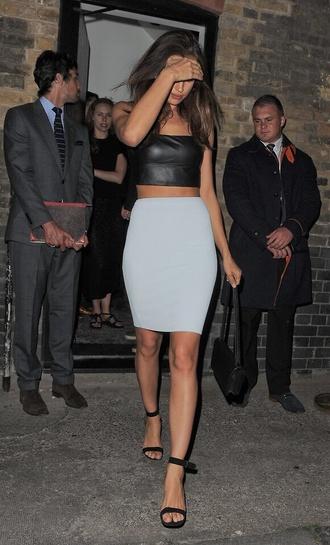 skirt light blue midi skirt mini skirt bodycon skirt bodycon heels shoes straps
