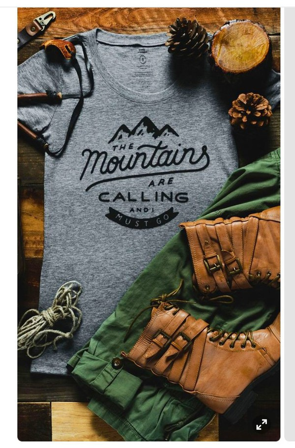 shirt t-shirt mountains outdoors