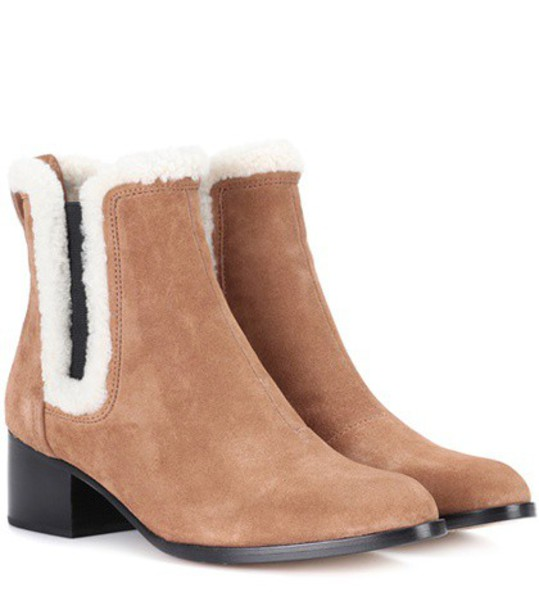 Rag & Bone suede ankle boots ankle boots suede brown shoes