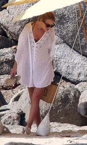 dress,cover up,rosie huntington-whiteley,summer outfits,beach