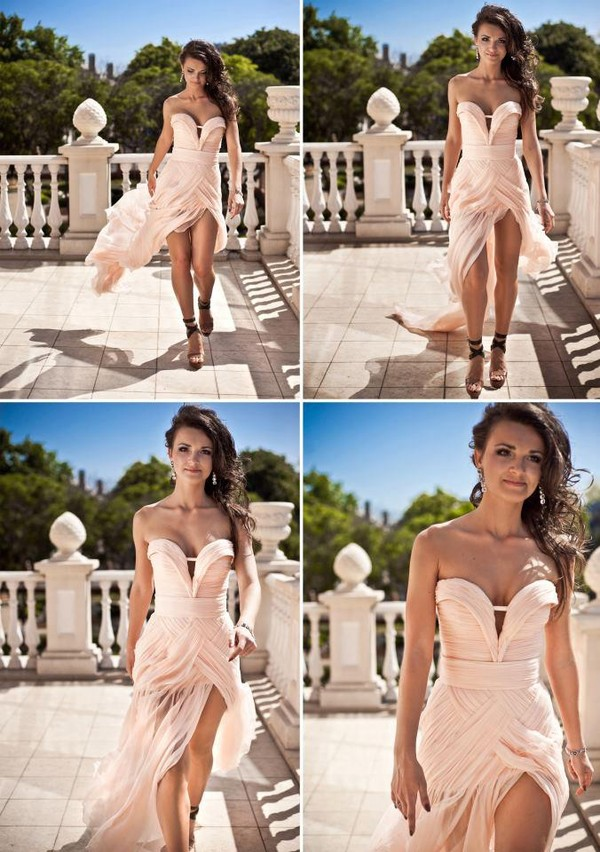 dress pink maxi dress