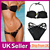 New 2Pcs Sexy Hot Women Padded Swimwear Swimsuit Bikini Set Black | eBay