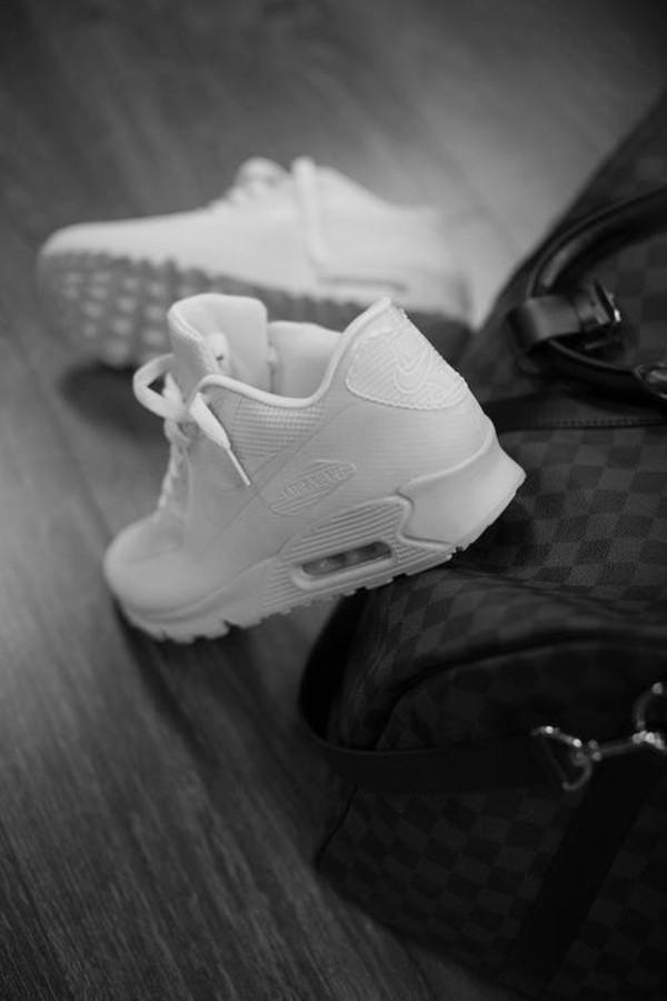 shoes white air max blogger skateboard nike