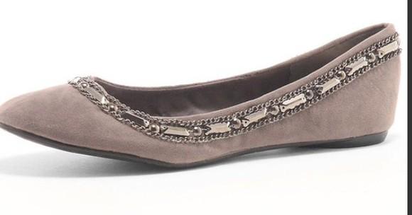 chain ballerina shoe