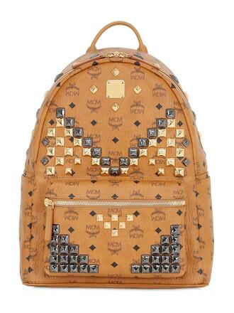 studded backpack studded backpack tan bag
