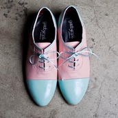 shoes,pastel,color/pattern,pink,blue,cute,vintage,retro,girly,light