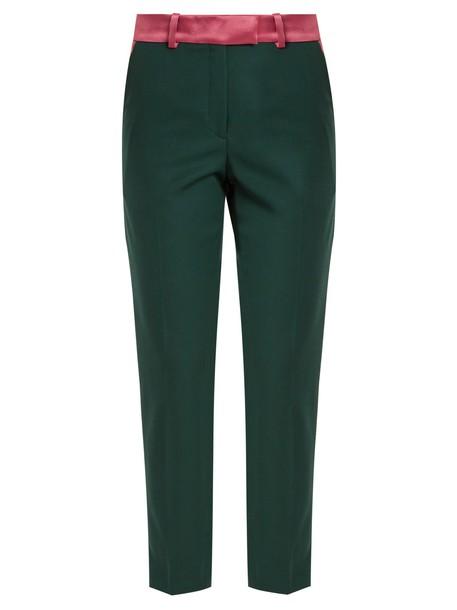 Racil wool green pants