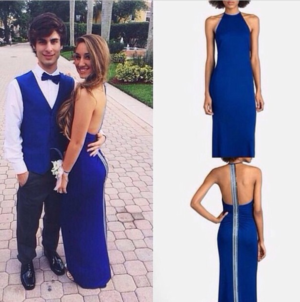 dress prom dress blue dress prom long dress blue