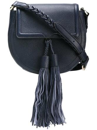 tassel bag crossbody bag blue