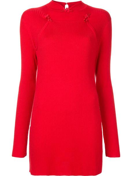 G.V.G.V. sweater women wool red