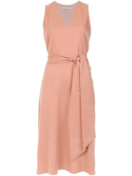 EGREY dress women purple pink
