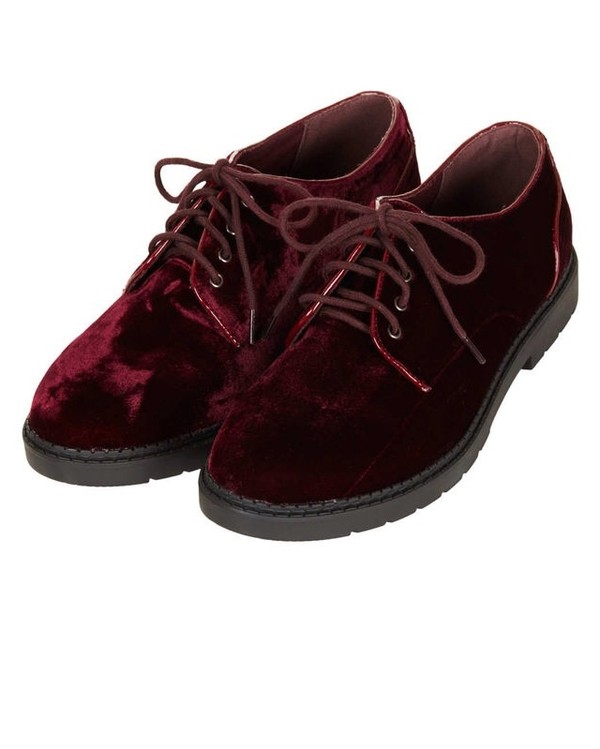 shoes burgundy loafers velvet
