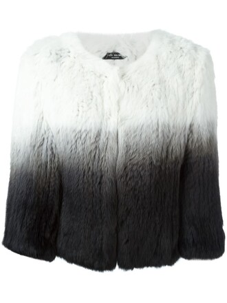 jacket fur jacket fur white