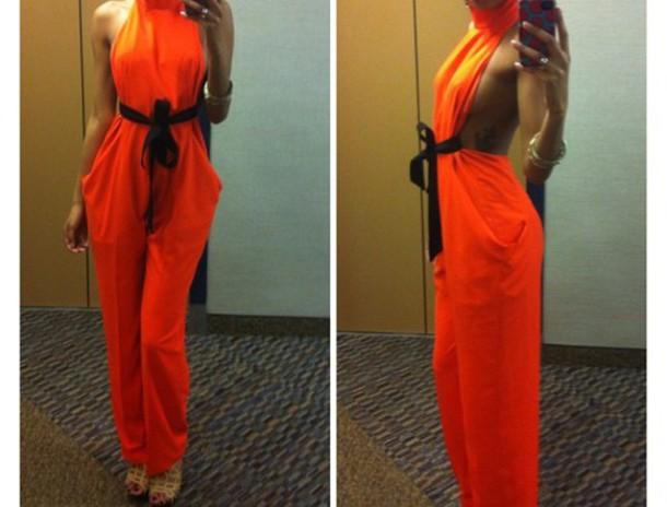 jumpsuit jumper jumpsuit orange jumpsuit orange jumper