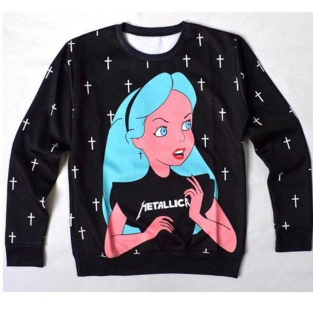 metallica christmas sweater uk 55 metallica band black sweatshirt for youth wishiny - Metallica Christmas Sweater