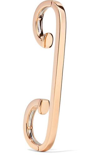 cuff rose gold rose ear cuff gold jewels