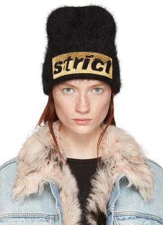 beanie black hat
