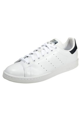 exquisite style designer fashion top quality adidas Originals STAN SMITH - Zapatillas - core white/dark ...