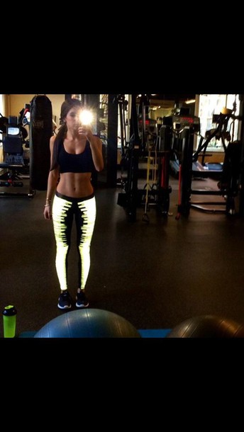 leggings glow in the dark