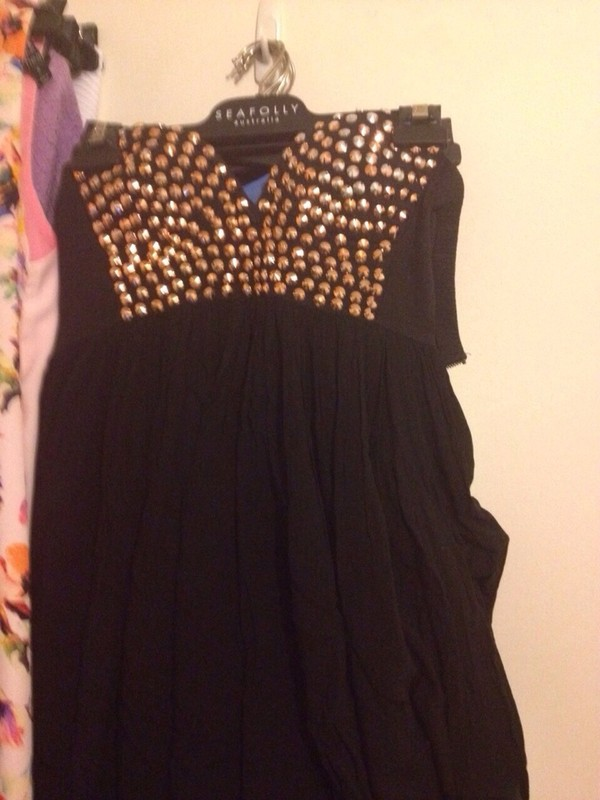 dress angel biba little black dress rose gold dress cute dress